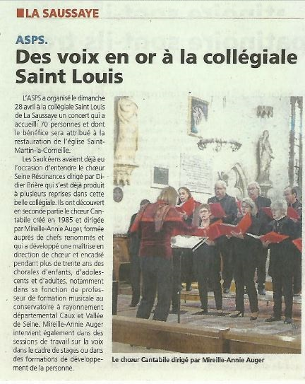 Article Courrier Eure